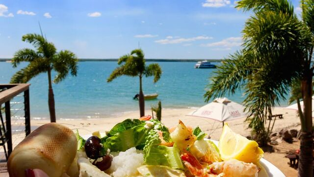 Crab Claw Island Cruise and Seafood Buffet