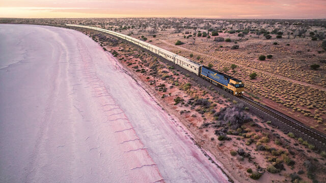 Perth Rail Escape (departing Brisbane)