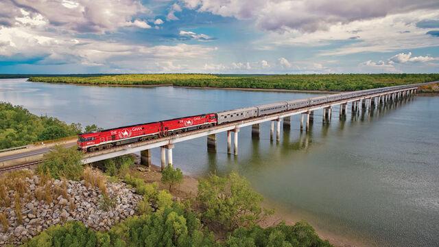 Darwin Rail Escape (departing Perth)