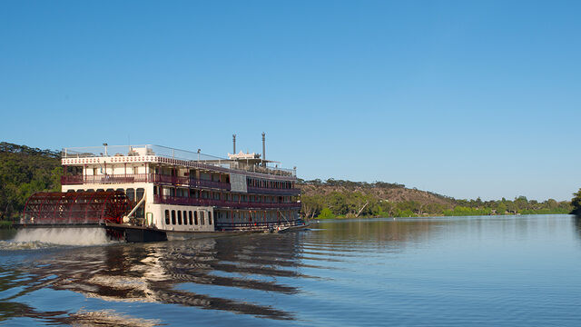 Murray Princess 4 Night Outback Heritage Cruise (Outside Cabin)