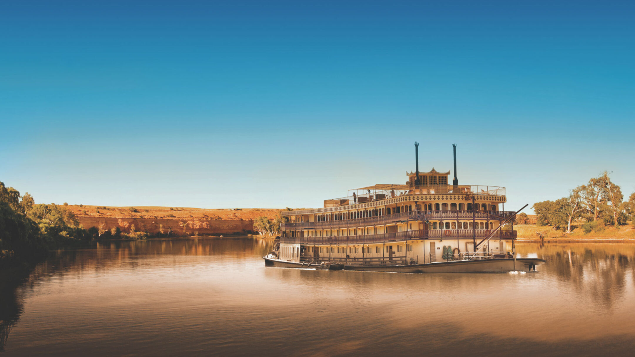 Murray Princess 7 Night Murraylands & Wildlife Cruise - Monday or Friday Departures (Outside Cabin)
